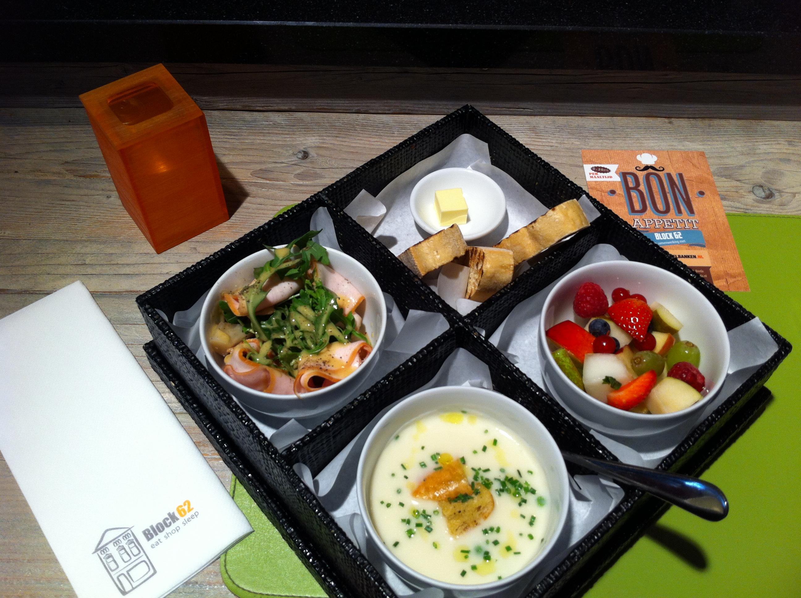 how to eat bento box